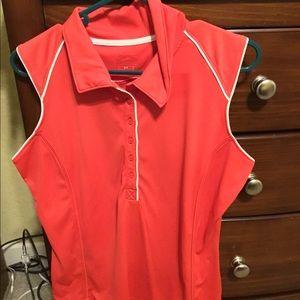 Slazenger Sleeveless Womens Golf Polo